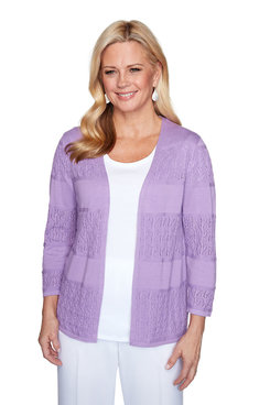 Image: Biadere Pointelle Cardigan