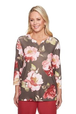 Image: Bold Floral Top