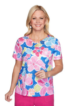Image: Bold Flowers Top