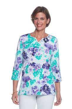 Classics Abstract Floral Top