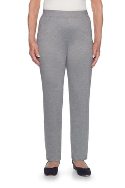 Classics Plus Proportioned Short Slim Ponte Pant
