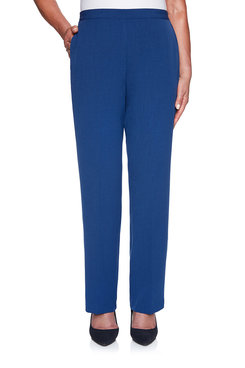 Image: Crepe Proportioned Medium Pant