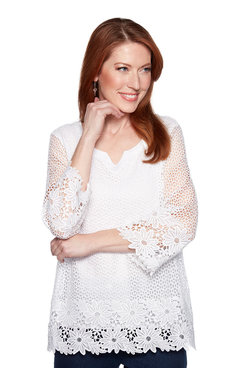 Image: Crochet Lace Tunic