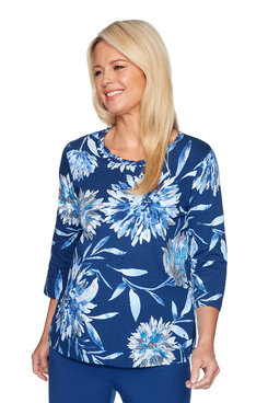 Image: Dramatic Floral Top