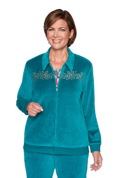 Image: Embellished Yoke Jacket