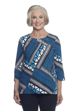 Image: Ethnic Patchwork Top