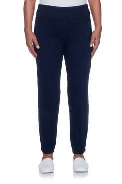 Image: Faux Pocket Proportioned Medium Slim Stretch Denim
