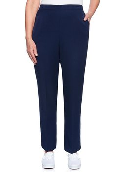 Image: Flatfront Twill Proportioned Medium Pant