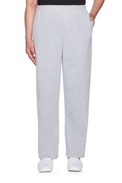 Image: French Terry Knit Proportioned Short Pant