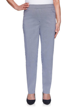 Image: Gingham Proportioned Medium Pant