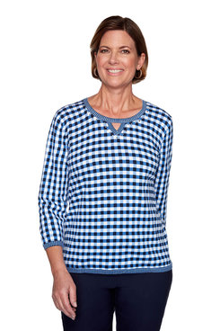 Image: Gingham Sweater