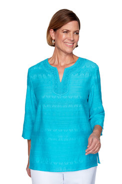 Image: Lace Neck Tunic