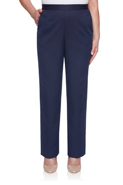 Image: Microfiber Proportioned Medium Pant