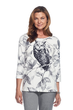 Owl Printed Top