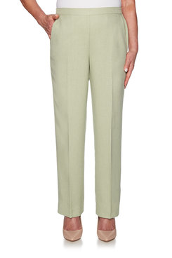 Image: Petite Basketweave Proportioned Medium Pant