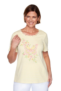 Image: Petite Center Butterfly Top