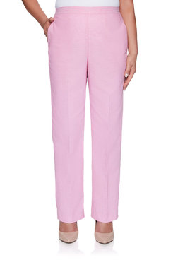 Image: Petite Chambray Proportioned Short Pant