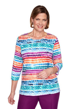 Image: Petite Chicklet Biadere Top