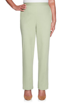 Image: Petite Classic Fit Twill Proportioned Medium  Pant