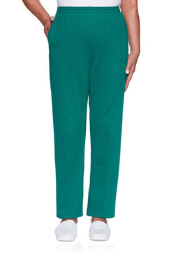 Image: Petite Classic French Terry Proportioned Medium Pant