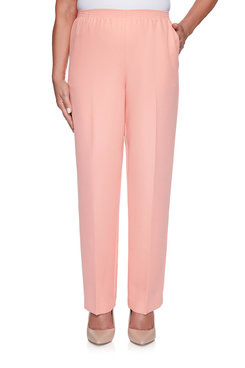 Image: Petite Classic Textured Proportioned Medium Pant