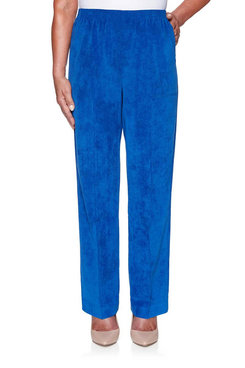 Image: Petite Classics Corduroy Pull-On Proportioned Medium Pant
