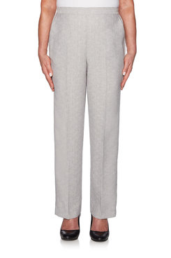 Image: Petite Cross Hatch Proportioned Medium Pant