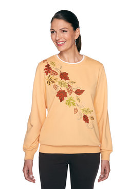 Image: Petite Fall Leaves Top