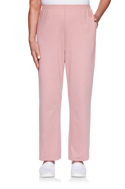Image: Petite French Terry Proportioned Medium Pant