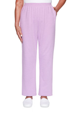 Image: Petite French Terry Proportioned Short Pant