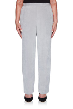 Image: Petite Lake Geneva Corduroy Proportioned Medium Pant
