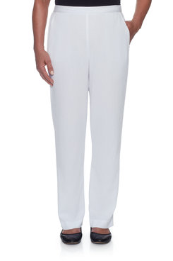 Image: Petite Lightweight Flatfront Proportioned Short Pant
