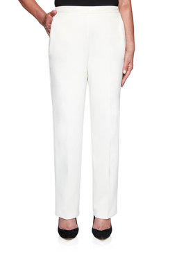 Image: Petite Microfiber Proportioned Medium Pant