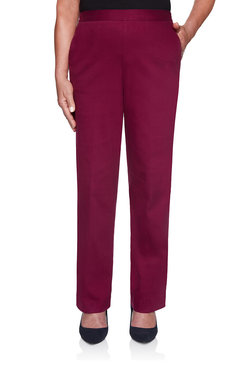 Image: Petite Mulberry Proportioned Medium Denim Jean