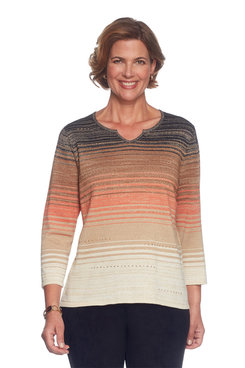 Petite Ombre Space Dye Sweater