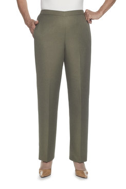 Image: Petite Proportioned Medium Classic Fit Pant