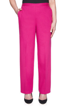 Image: Petite Proportioned Medium Colored Denim Pant