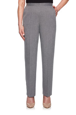 Image: Petite Proportioned Medium Textured Pant