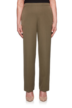 Image: Petite Proportioned Medium Twill Pant