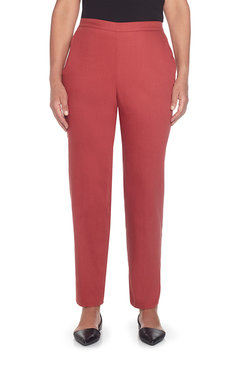 Petite Proportioned Short Colored Denim Pant