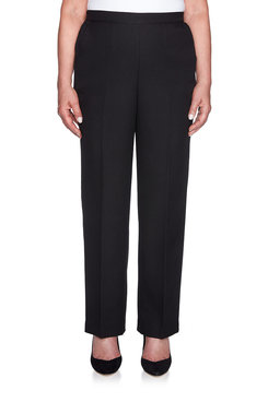 Image: Petite Proportioned Short Crepe Pant