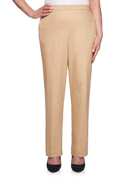 Image: Petite Proportioned Short Sateen Pant