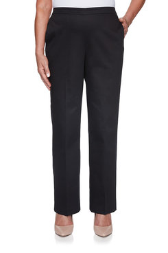 Image: Petite Proportioned Short Twill Pant