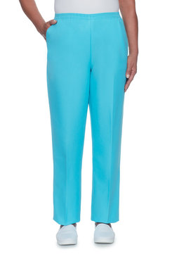 Image: Petite Pull-on Proportioned Short Pant
