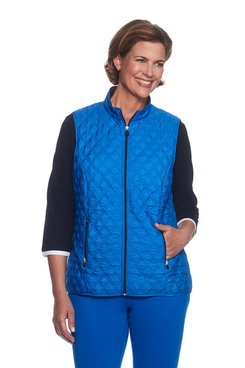 Petite Quilted Vest