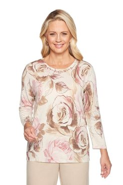 Image: Petite Roses Shimmer Sweater