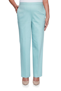 Image: Petite Sateen Proportioned Medium Pant
