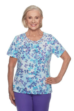 Image: Petite Scattered Butterfly Top