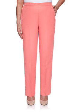 Image: Petite Solid Proportioned Medium Pant