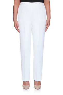 Image: Petite Solid Proportioned Short Pant